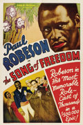 "Movie Posters:Black Films, Song of Freedom (Song of Freedom, Inc., 1936). One Sheet (27"" X41"")...."