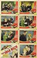 "Movie Posters:Comedy, The Idle Rich (MGM, 1929). Lobby Card Set of 8 (11"" X 14"")....(Total: 8 Items)"