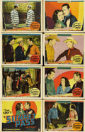 "Movie Posters:Western, Sunset Pass (Paramount, 1929). Lobby Card Set of 8 (11"" X 14"").... (Total: 8 Items)"