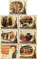 """Movie Posters:Western, Cheyenne (First National, 1929). Title Card and Lobby Cards (6)(11"""" X 14"""").... (Total: 7 Items)"""