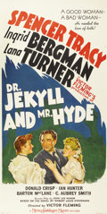 """Movie Posters:Horror, Dr. Jekyll and Mr. Hyde (MGM, 1941). Three Sheet (41"""" X 81"""")...."""