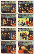 "Movie Posters:Science Fiction, The Thing From Another World (RKO, 1951). Lobby Card Set of 8 (11""X 14"").... (Total: 8 Items)"