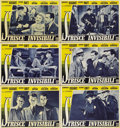 "Movie Posters:Crime, Invisible Stripes (Warner Brothers, 1940s). Italian Photobustas(11) (13"" X 19"").... (Total: 11 Items)"