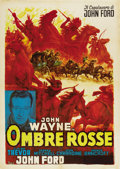 "Movie Posters:Western, Stagecoach (United Artists, R-1960s). Italian 2 - Folio (39"" X55"")...."