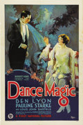 "Movie Posters:Drama, Dance Magic (First National, 1927). One Sheet (27"" X 41"")...."