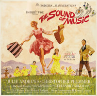 "The Sound of Music (20th Century Fox, 1965). TODD-AO Six Sheet (81"" X 81"")"
