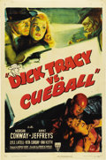 "Movie Posters:Crime, Dick Tracy vs. Cueball (RKO, 1946). One Sheet (27"" X 41"")...."