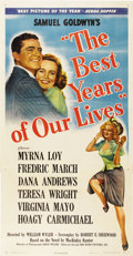 "Movie Posters:Academy Award Winner, The Best Years of Our Lives (RKO, 1946). Three Sheet (41"" X81"")...."