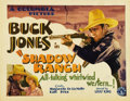"Movie Posters:Western, Shadow Ranch (Columbia, 1930). Title Lobby Card (11"" X 14"")...."