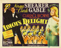 "Movie Posters:Comedy, Idiot's Delight (MGM, 1939). Title Lobby Card (11"" X 14"")...."