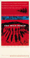 "Movie Posters:Western, The Wild Bunch (Warner Brothers, 1969). Three Sheet (41"" X 81"")...."
