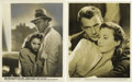 "Movie Posters:Drama, Meet John Doe (Warner Brothers, 1941). Gary Cooper and BarbaraStanwyck Publicity Stills (2) (8"" X 10"").... (Total: 2 Items)"