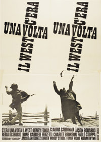 """Once Upon A Time in the West (Paramount, 1969). Italian 4 - Folio (55"""" X 78"""")"""