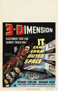 """Movie Posters:Science Fiction, It Came From Outer Space (Universal, 1953). Window Card (14"""" X22"""")...."""