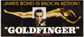 "Movie Posters:James Bond, Goldfinger (United Artists, 1964). 24 Sheet (104"" X 232"")...."