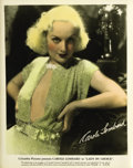 """Movie Posters:Comedy, Lady by Choice (Columbia, 1934). Carole Lombard Publicity Still (8""""X 10"""")...."""