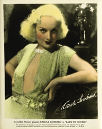 "Lady by Choice (Columbia, 1934). Carole Lombard Publicity Still (8"" X 10"")"