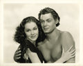 "Movie Posters:Adventure, Tarzan Finds a Son (MGM, 1939). Johnny Weissmuller and MaureenO'Sullivan Still (8"" X 10"")...."