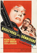 "Movie Posters:Film Noir, Sunset Boulevard (Paramount, 1950). German A1 (23"" X 33"")...."