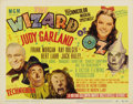 "Movie Posters:Musical, The Wizard of Oz (MGM, R-1949). Title Lobby Card (11"" X 14"")...."