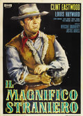 "Movie Posters:Western, The Magnificent Stranger (Unidas, 1966). Italian 4 - Folio (55"" X78"")...."