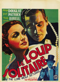 """Movie Posters:Mystery, The Lone Wolf Returns (Columbia, 1935). Pre-War Belgian (24.5"""" X33.5"""")...."""