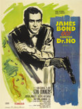 "Movie Posters:James Bond, Dr. No (United Artists, 1962). French Grande (47"" X 63"")...."