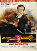 "Movie Posters:James Bond, Goldfinger (United Artists, 1964). French Grande (46"" X 62"")...."
