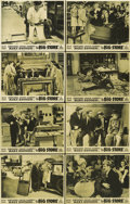 "Movie Posters:Comedy, The Big Store (MGM, 1941). Australian Photo Lobby Card Set of 8(11"" X 14"").... (Total: 8 Items)"
