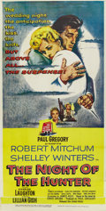 "Movie Posters:Film Noir, The Night of the Hunter (United Artists, 1955). Three Sheet (41"" X 81"")...."