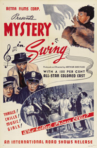"Mystery in Swing (International Road Shows, 1940). One Sheet (27"" X 41"")"
