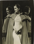 "Movie Posters, Norma Shearer Publicty Still by George Hurrell (MGM, 1932). Still(8"" X 10"").. ..."