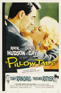 "Movie Posters:Comedy, Pillow Talk (Universal, 1959). One Sheet (27"" X 41"")...."