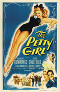 """Movie Posters:Comedy, The Petty Girl (Columbia, R-1955). One Sheet (27"""" X 41"""")...."""