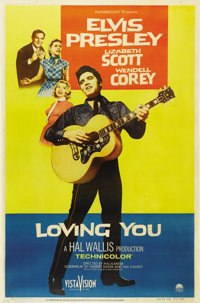 """Loving You (Paramount, 1957). Poster (40"""" X 60"""") Style Y"""