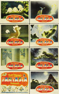 "Movie Posters:Animated, Fantasia (RKO, 1940). Lobby Card Set of 8 (11"" X 14"").... (Total: 8Items)"