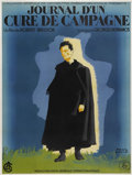 "Movie Posters:Drama, Diary of a Country Priest (UGC, 1959). French Grande (47"" X 63"")...."