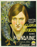 "Movie Posters:Drama, Society Scandal (Paramount, 1924). Pre-War Belgian (24"" X 30.5"")...."