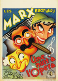 """Movie Posters:Comedy, A Night at the Opera (MGM, 1935). Pre-War Belgian (23.75"""" X33.5"""")...."""