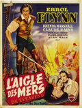 "Movie Posters:Adventure, The Sea Hawk (Warner Brothers, R-1950s). Belgian (14.5"" X18.5"")...."