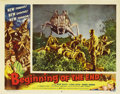"Movie Posters:Science Fiction, Beginning of the End (Republic, 1957). Lobby Cards (2) (11"" X14"").. ... (Total: 2 Items)"