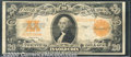 Large Size Gold Certificates:Large Size, 1922 $20 Gold Certificate, Fr-1187, VF-XF. You may bid on this ...