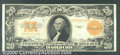Large Size Gold Certificates:Large Size, 1922 $20 Gold Certificate, Fr-1187, XF. You may bid on this lot...