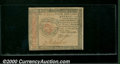 Colonial Notes:Continental Congress Issues, January 14, 1779, $4, Continental Congress Issue, CC-90, CU. Yo...