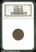 Proof Sets: , 1892 1C Cent PR 65 Red NGC. Wholly original mirrored surfa...