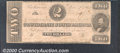 Confederate Notes:1862 Issues, 1862 $2 Judah P. Benjamin, T-54, VG. A well circulated note tha...