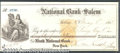 Miscellaneous:Checks, This check was drawn on National Bank of Salem. The check is da...