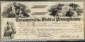 Miscellaneous:Checks, 1858 Treasurer Warrant, State of Pennsylvania, XF. You may bid ...