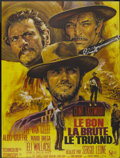 """Movie Posters:Western, The Good, The Bad and the Ugly (United Artists, R-1970s). French Grande (45.5"""" X 61""""). Western...."""