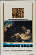 "Movie Posters:Action, Deliverance (Warner Brothers, 1972). One Sheet (27"" X 41"").Action...."
